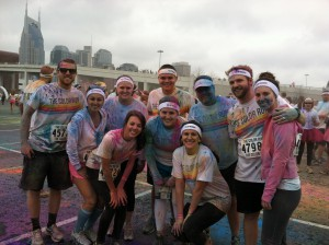 Color Run-After